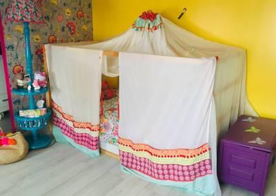 Lit cabane chambre Gypsy